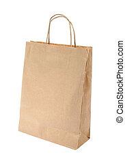 torba, papier, zakupy