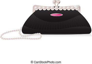 torba, wieczorny, perła
