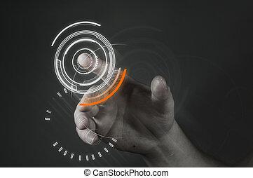touchscreen, technologia
