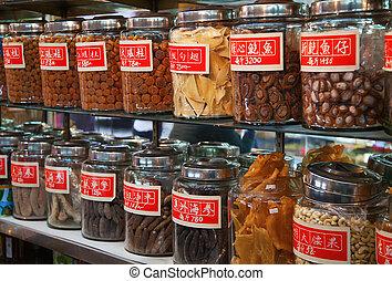 tradycyjny, sklep, chińczyk