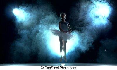 trening, balerina, klasa