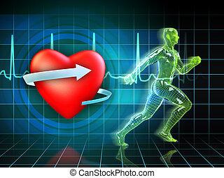 trening, cardio