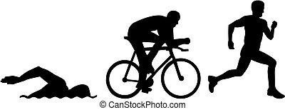 triathlon, sylwetka