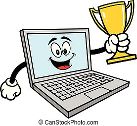 trofeum, komputer, maskotka
