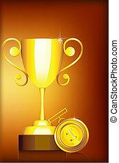 trofeum, medal
