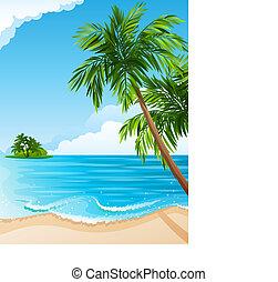 tropikalny krajobraz