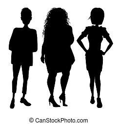 trzej kobiety