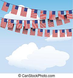 trznadel, bandery, pasy, gwiazdy