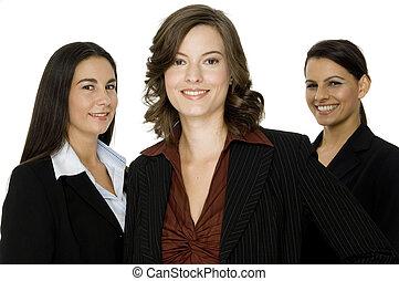 trzy, businesswomen