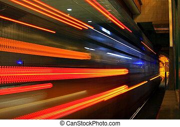 tunel, #1, metro