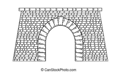 tunel, kamień