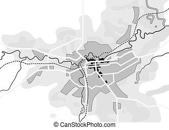 turysta, przewodnik, miejski, city., marszruta, nawigacja, geograficzny, location., wykres, mapa