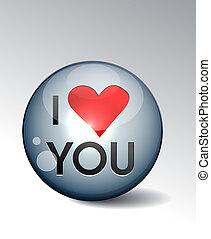 ty, miłość, guzik