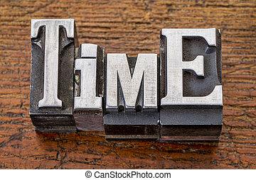 typ, metal, słowo, czas