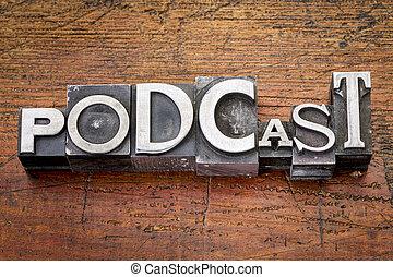 typ, podcast, metal, słowo