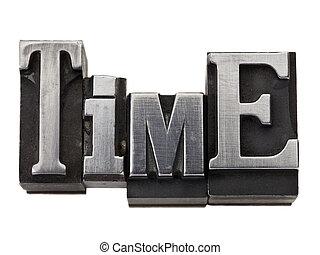 typ, słowo, czas, metal