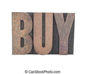 typ, stary, drewno, kupować