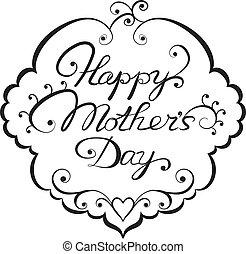 tytuł, mother', dzień, szczęśliwy