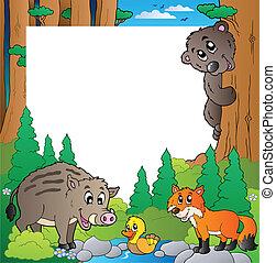 ułożyć, 2, temat, las