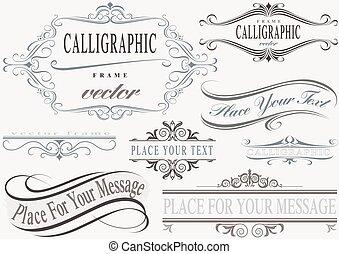 układa, calligraphic