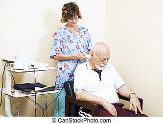 ultradźwięk, chiropractic terapia