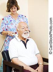 ultradźwięk, ulga, terapia
