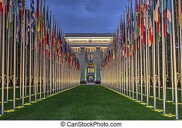 united-nations, genewa, hdr, szwajcaria