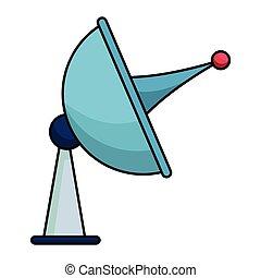 urządzenie, komunikacja, antena