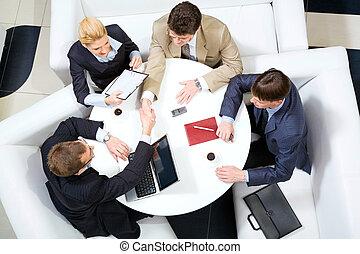 uzgodnienie, spotkanie
