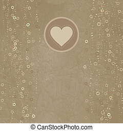 valentine, eps, 8, dzień, karta, design.