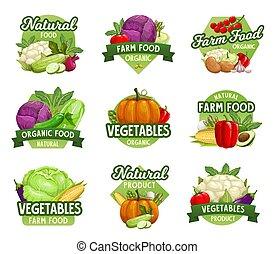 veggies, warzywa, jadło, zagroda, ikony, targ