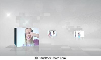 video, muzyka, wiek dojrzewania, interpretacja, da