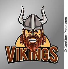 vikings, maskotka