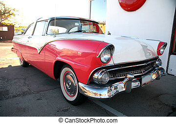 wóz, ameryka, retro, klasyk