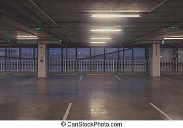 wóz los, parking