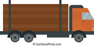 wózek, illustration., budulec