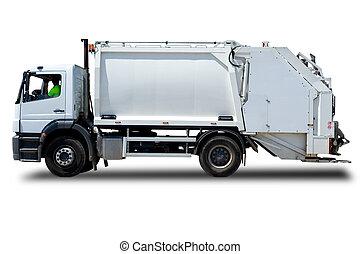 wózek, odpadki