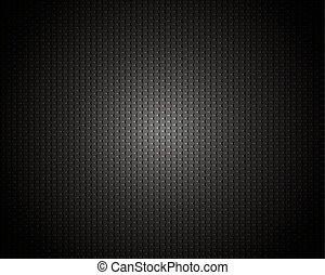węgiel, czarnoskóry, struktura, tło