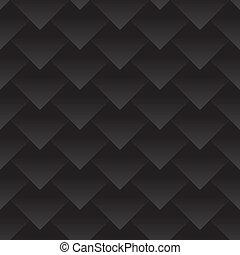 włókno, smok, tło., skin., węgiel, triangle