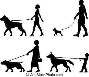 właściciel, pies, rozmaitość