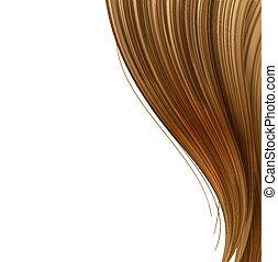włosiany styl, projektować, szablon, haircare