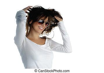 włosy, zamocowywanie