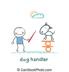 waga, uczeni, pies, psi, trzym!ć