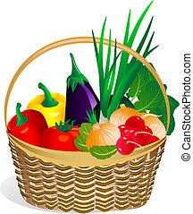 warzywa, basket2