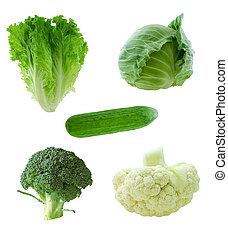 warzywa, zielony