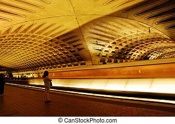 waszyngton dc, metro
