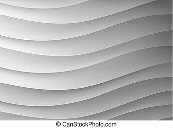 waves., tło, kształt
