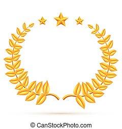 wawrzyn, zwycięzca, gwiazdy