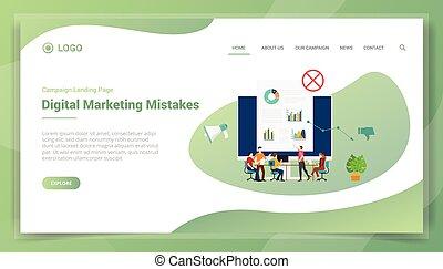 website, handel, szablon, homepage, lądowanie, handlowy, błąd, albo