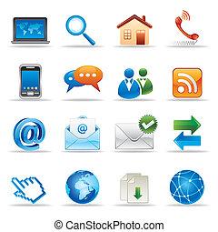website, internetowe ikony
